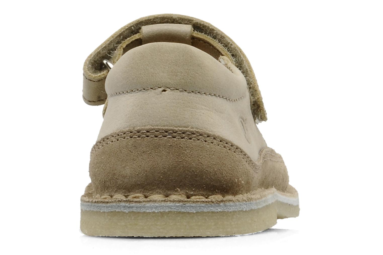 Sandals Naturino Gloria Beige view from the right