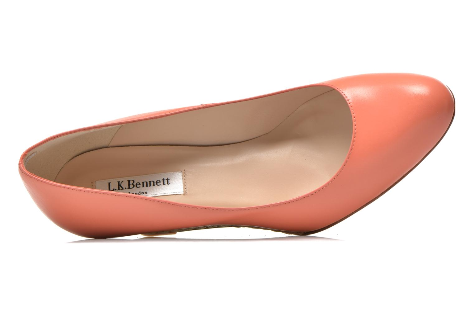 Pumps L.K. Bennett ZELLA orange ansicht von links