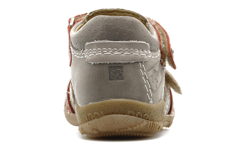 Sneaker Noël Mini Rebel grau ansicht von rechts