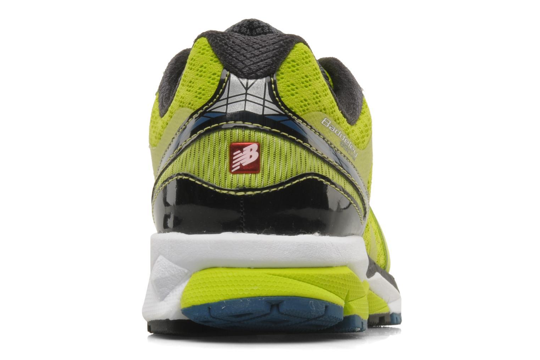 Chaussures de sport New Balance M890 Jaune vue droite