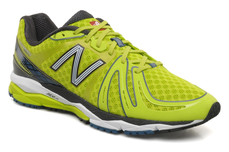 Chaussures de sport New Balance M890 Jaune vue détail/paire