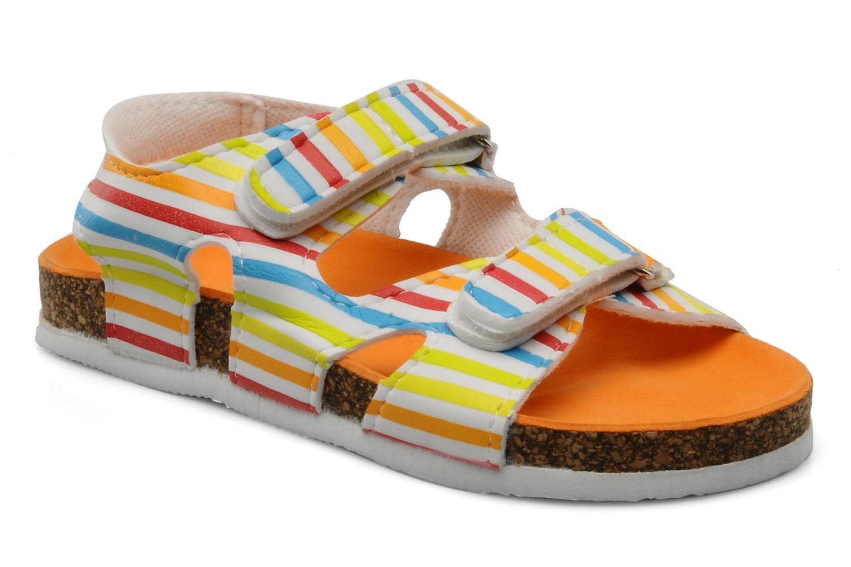 Sandales et nu-pieds Little Marcel Clown Multicolore vue détail/paire