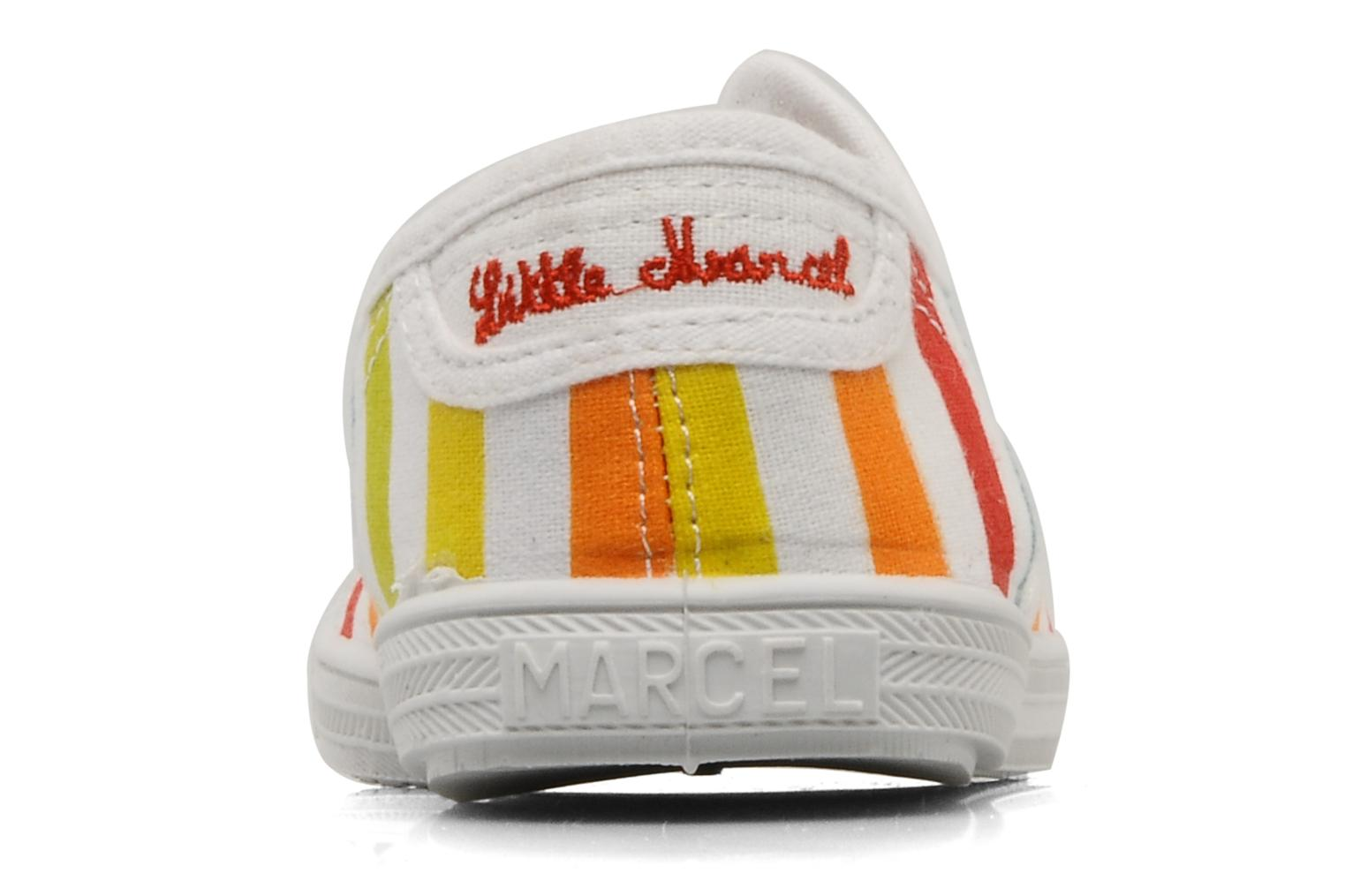 Trainers Little Marcel Benistic Print Multicolor view from the right