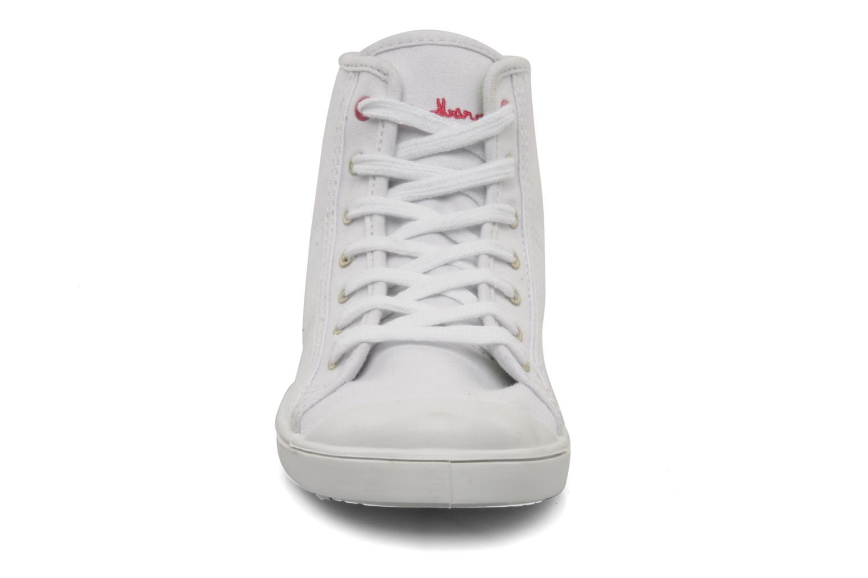 Sneaker Little Marcel Benilace Up Uni weiß schuhe getragen