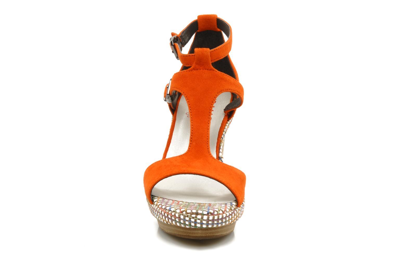 Sandalen JB MARTIN Nabou orange schuhe getragen
