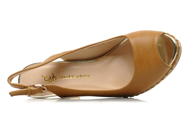 Sandales et nu-pieds Chocolate Schubar Celeste Beige vue gauche