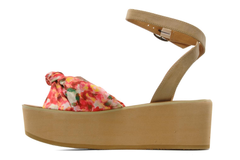 Sandales et nu-pieds Chocolate Schubar Bambi Rose vue face
