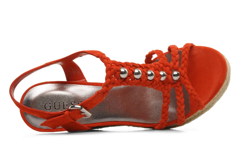 Sandales et nu-pieds Guess Reign Orange vue gauche