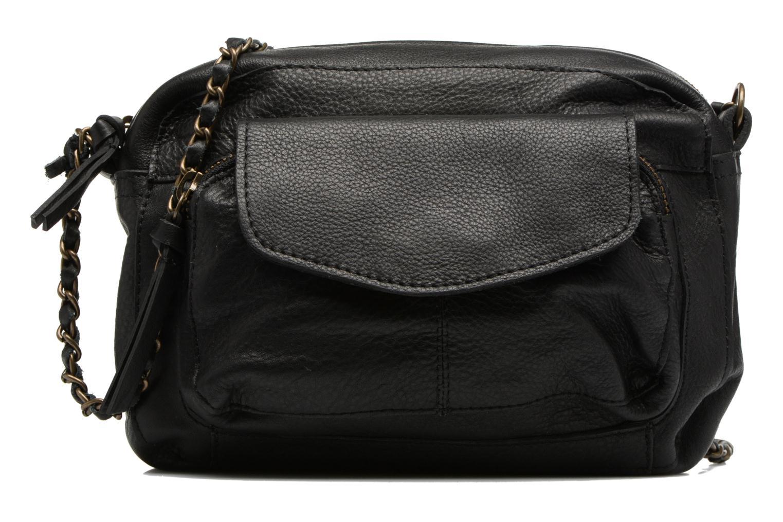 Naina Leather Crossover Black