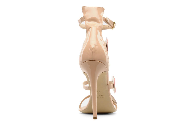 Sandales et nu-pieds Paul & Betty PrettyLips bis Beige vue droite