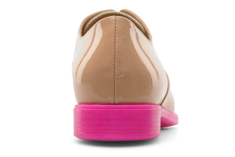 Chaussures à lacets Paul & Betty Rozy Beige vue droite