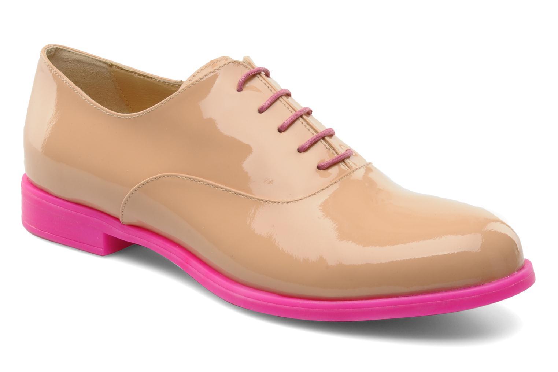 Chaussures à lacets Paul & Betty Rozy Beige vue détail/paire