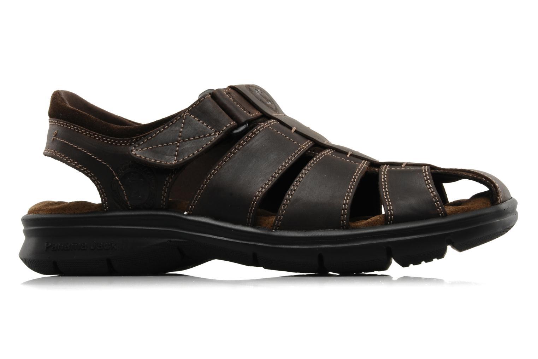 Sandales et nu-pieds Panama Jack Sherpa Marron vue derrière