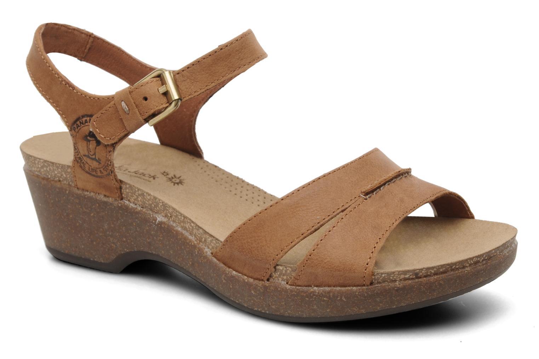 Sandales et nu-pieds Panama Jack Linda Marron vue détail/paire