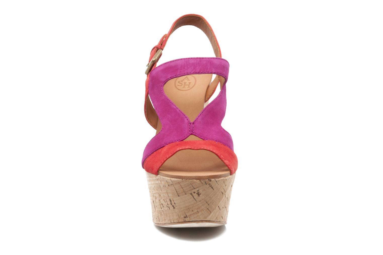 Sandales et nu-pieds Ash Hysteria Sandale Rose vue portées chaussures