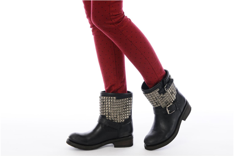 Bottines et boots Ash Titan Noir vue bas / vue portée sac