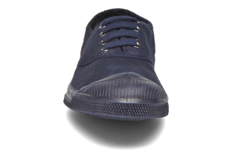 Sneaker Bensimon Tennis Colorsole blau schuhe getragen