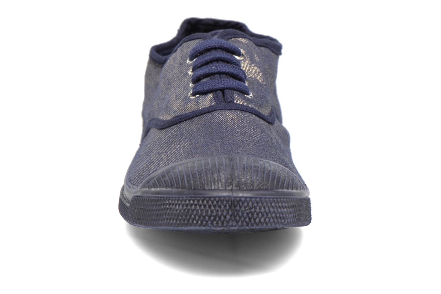 Trainers Bensimon Tennis Colorsole Blue model view