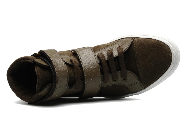 Sneakers Bensimon Sneakys Suède Grigio immagine sinistra