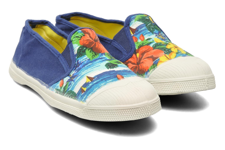 Sneakers Bensimon Tennis Tommy H Blauw 3/4'