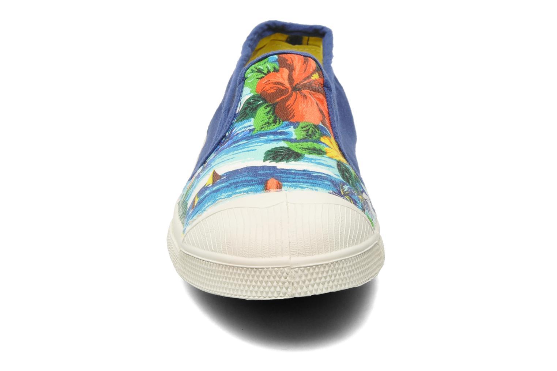 Baskets Bensimon Tennis Tommy H Bleu vue portées chaussures
