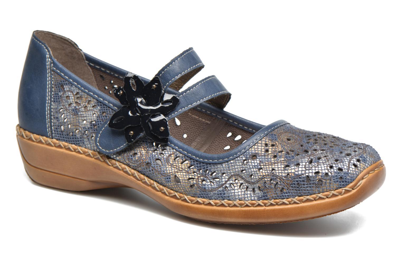 Zapatos promocionales Rieker Doris 41372 (Azul) - Bailarinas   Zapatos casuales salvajes