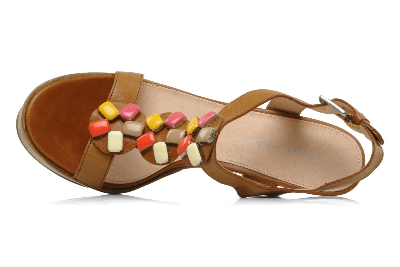 Sandales et nu-pieds Mellow Yellow Labeille Marron vue gauche
