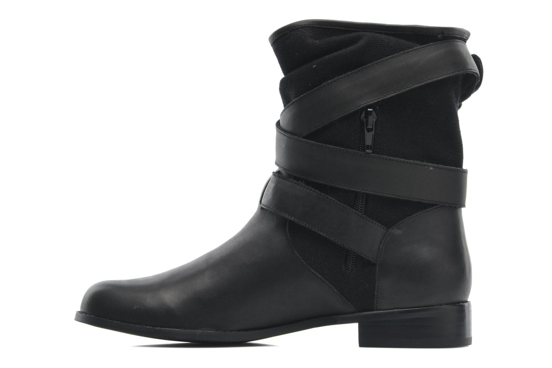 Bottines et boots Mellow Yellow Badilla Noir vue face