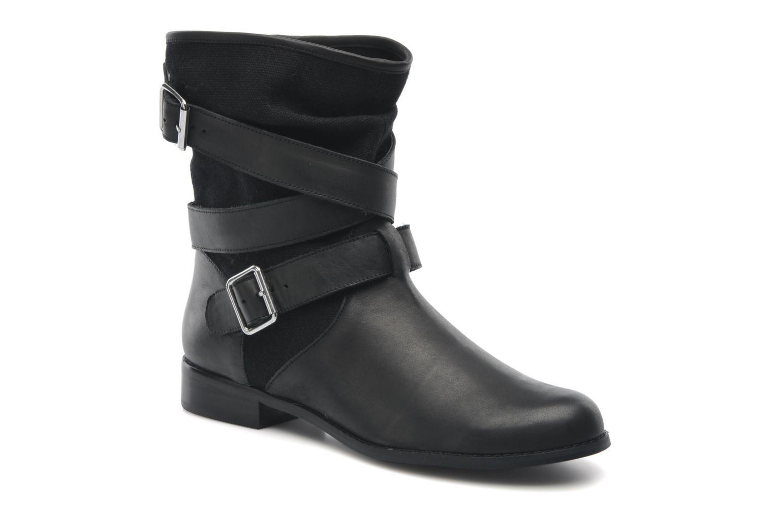Ankle boots Mellow Yellow Badilla Black detailed view/ Pair view