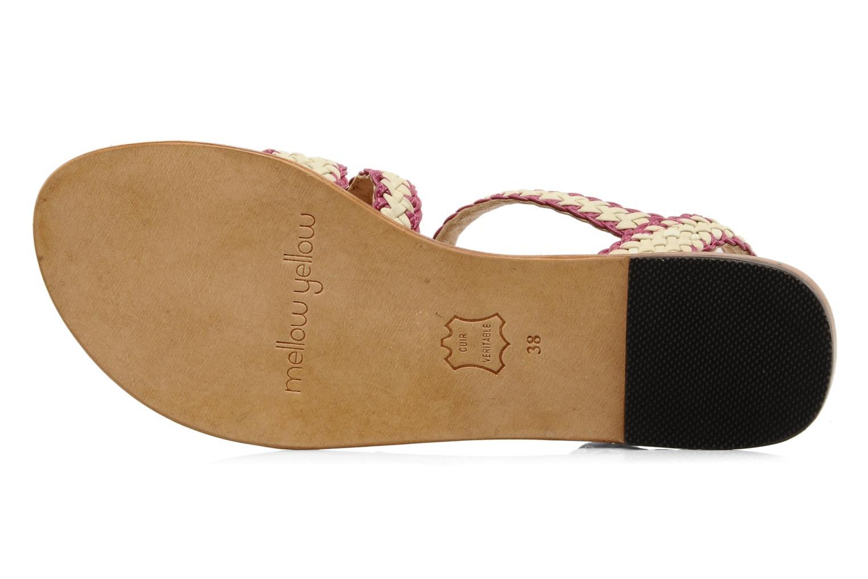 Sandales et nu-pieds Mellow Yellow Langlette Violet vue haut
