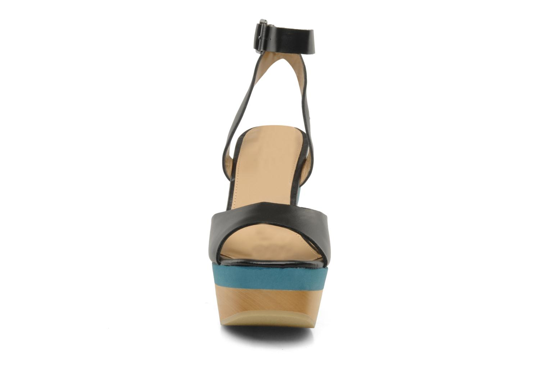 Sandals Mellow Yellow Lap Black model view