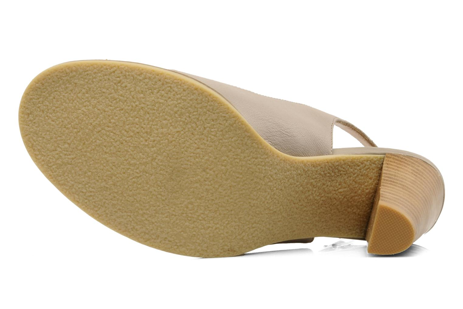 Sandals Mellow Yellow Lastou Beige view from above