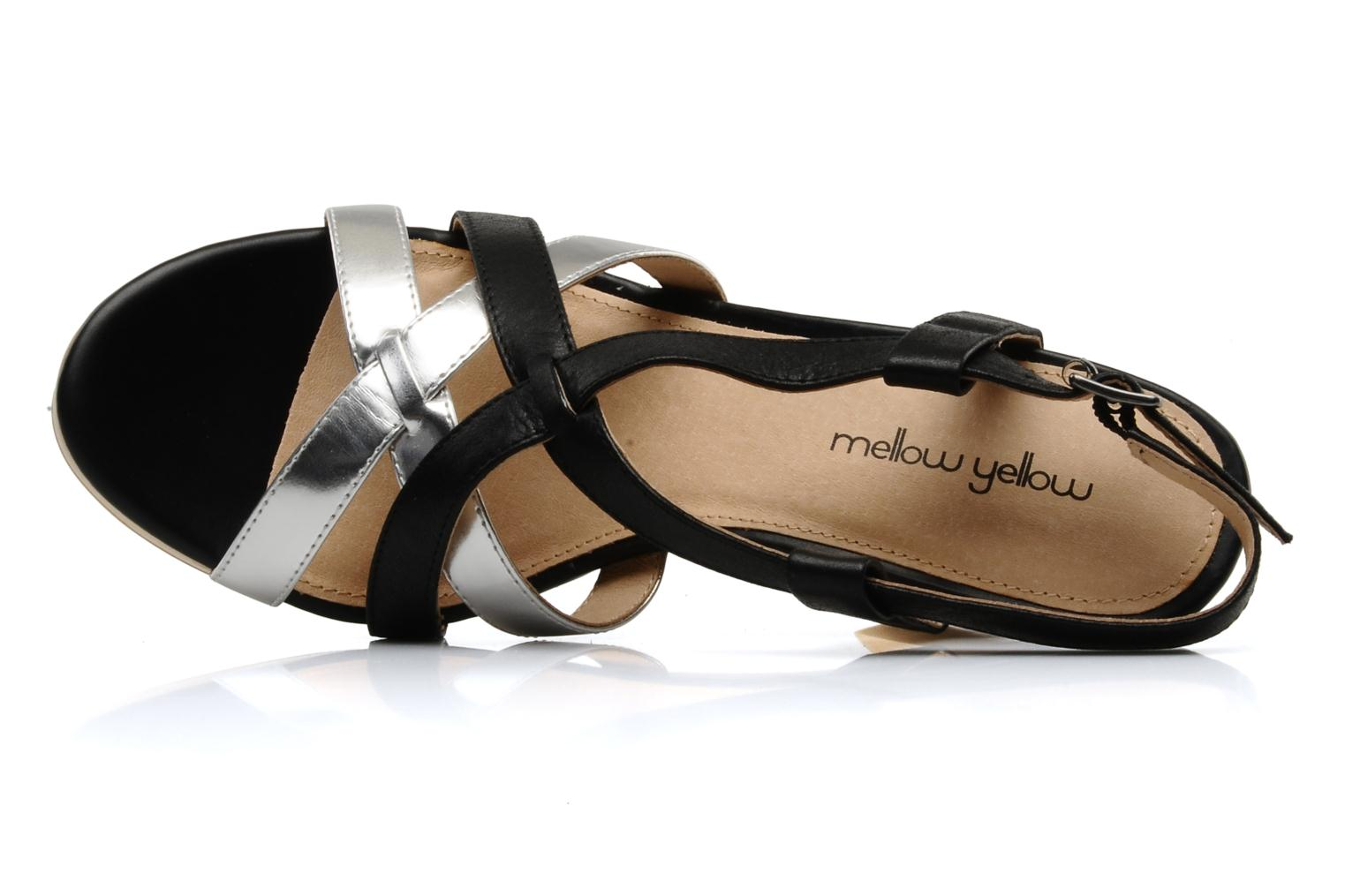 Sandals Mellow Yellow Lebon Black view from the left