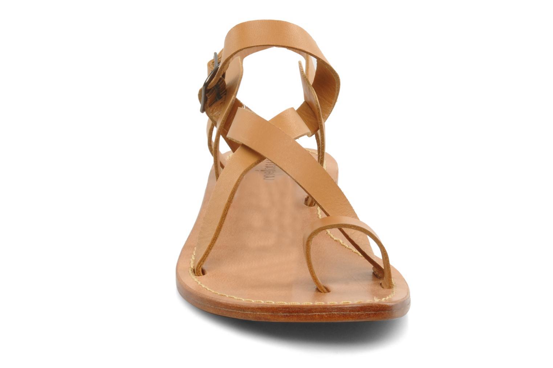 Sandals Mellow Yellow Lemporio Brown model view