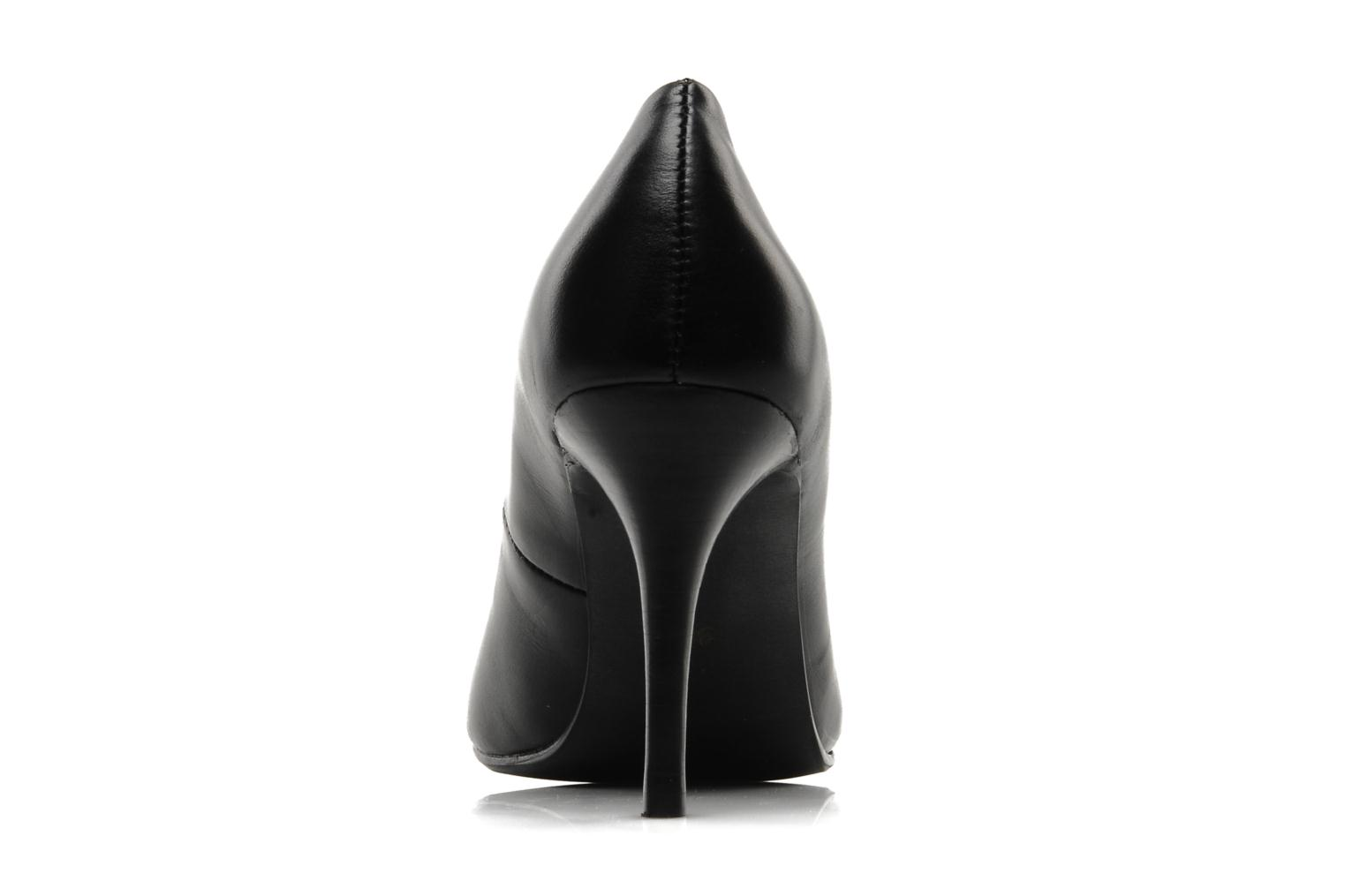 High heels Mellow Yellow Lescarpin Black view from the right