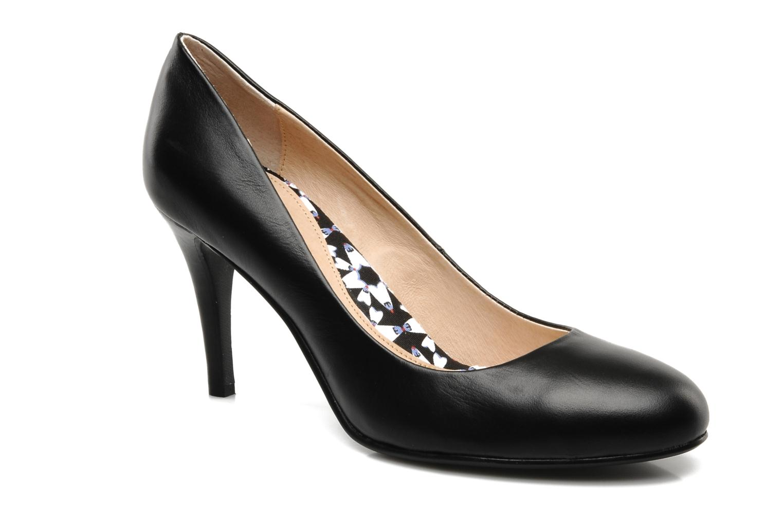 High heels Mellow Yellow Lescarpin Black detailed view/ Pair view