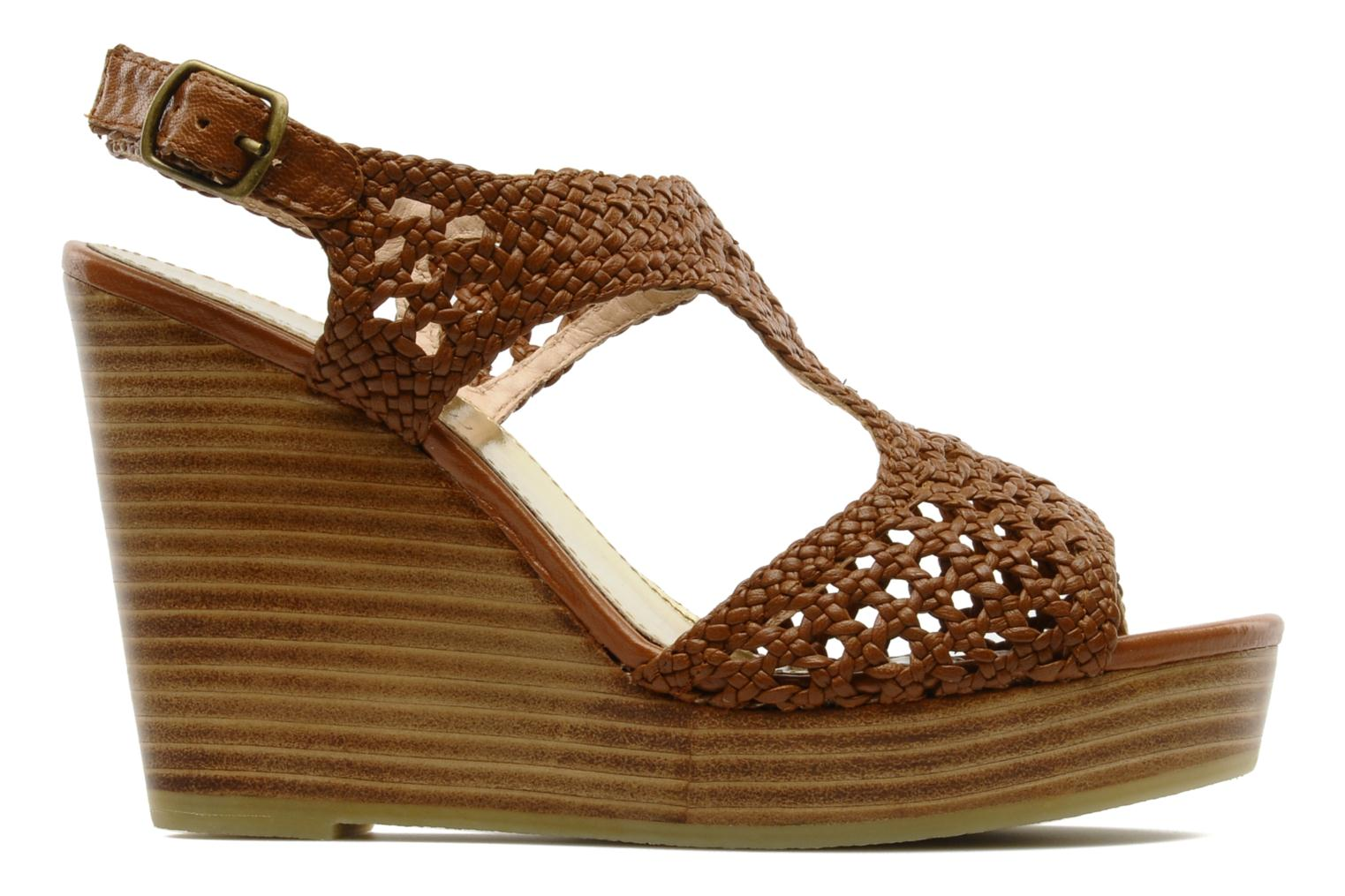 Sandals Mellow Yellow Lexic Brown back view