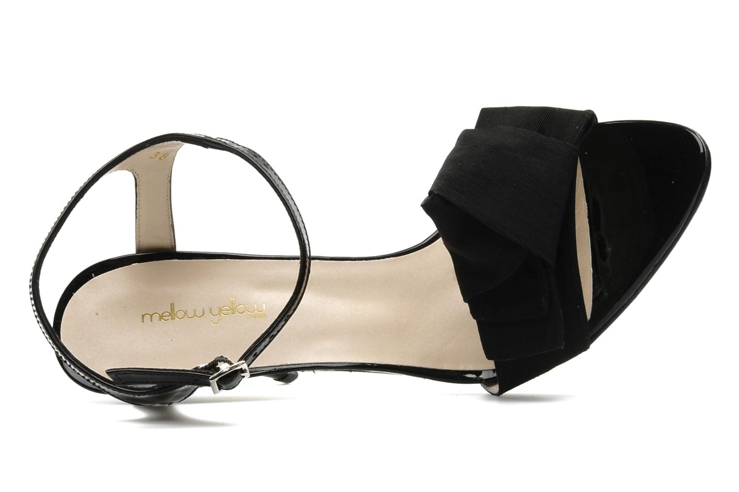 Sandalen Mellow Yellow Lilian Zwart links