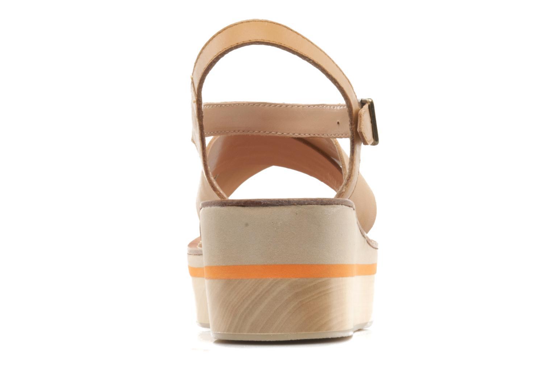 Sandales et nu-pieds Mellow Yellow Liraxan Marron vue droite
