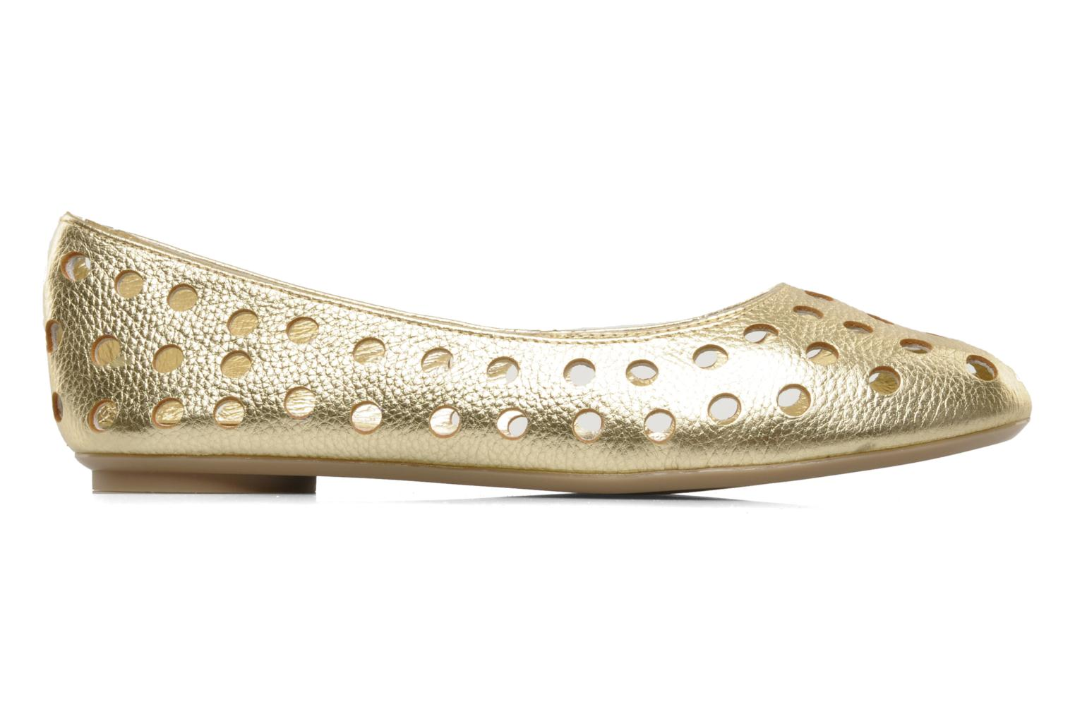 Ballet pumps Mellow Yellow Litten Bronze and Gold back view