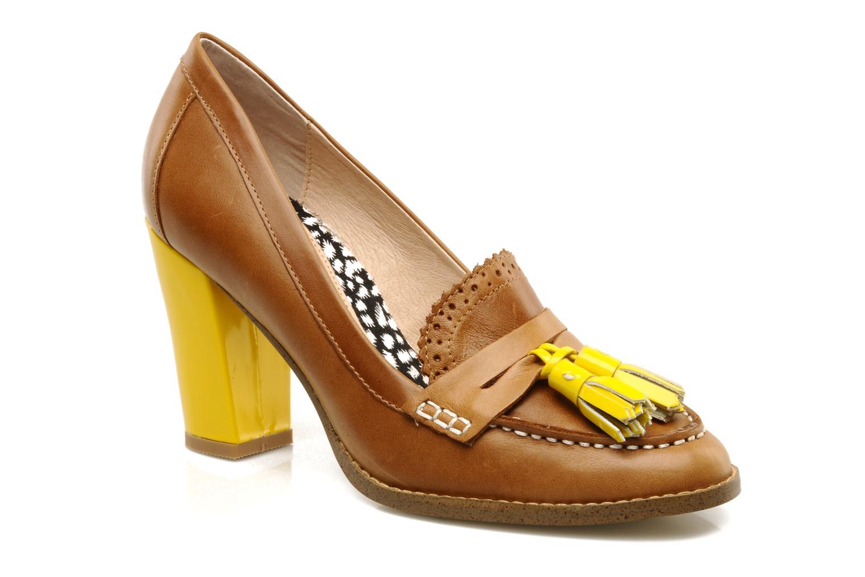 Mocasines Mellow Yellow Lola Marrón vista de detalle / par