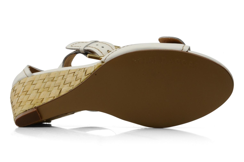 Sandales et nu-pieds Kelsi Dagger Gemini Blanc vue haut