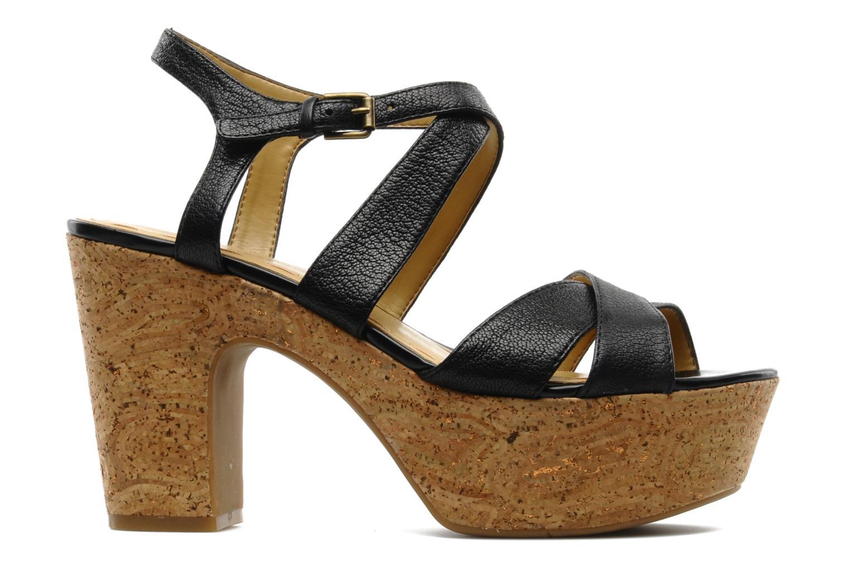 Sandales et nu-pieds Nine West Guessagain Noir vue derrière