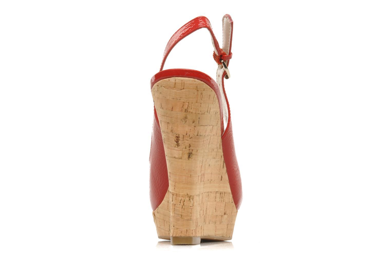 Sandales et nu-pieds Nine West Laffnplay 3 Rouge vue droite