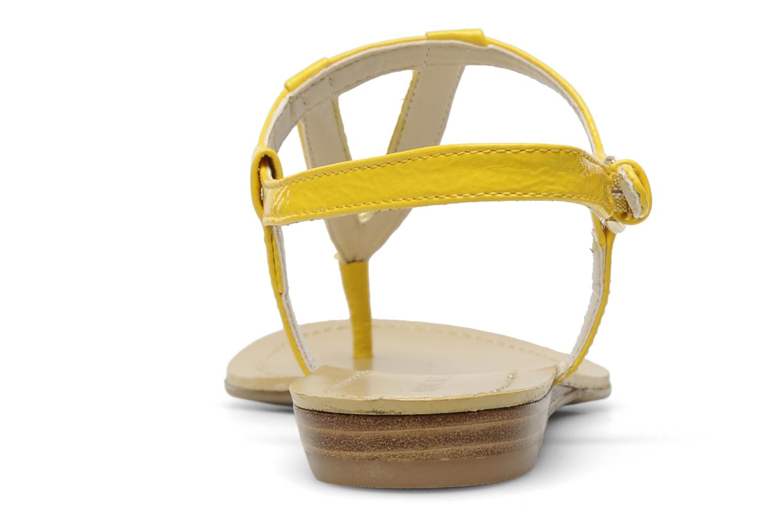 Sandales et nu-pieds Nine West Weightless 3 Jaune vue droite