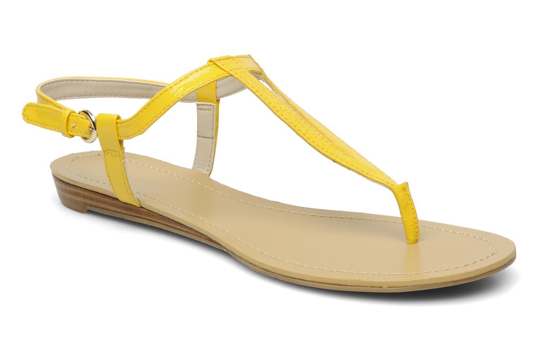 Sandales et nu-pieds Nine West Weightless 3 Jaune vue détail/paire