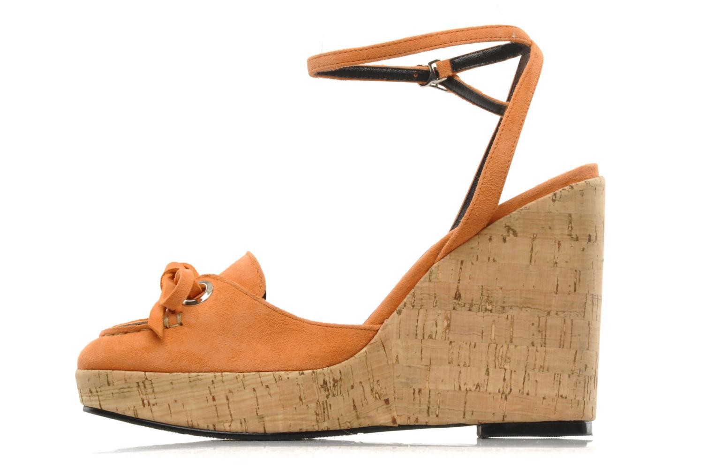 Sandales et nu-pieds Sebago & Gaspard Yurkievich Ydriss Orange vue face