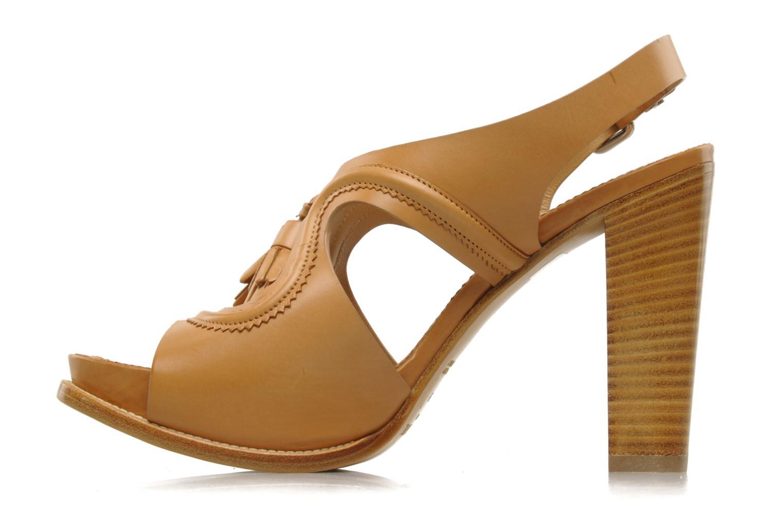 Sandales et nu-pieds Sartore Sariel Beige vue face