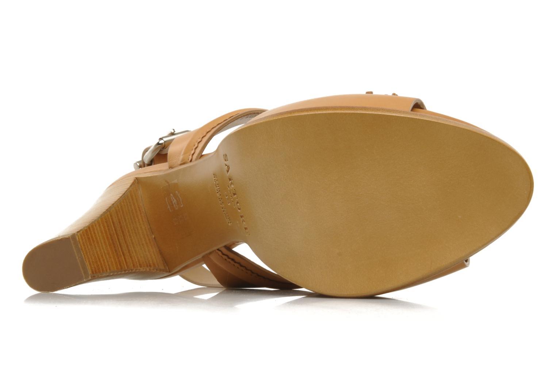 Sandales et nu-pieds Sartore Sariel Beige vue haut