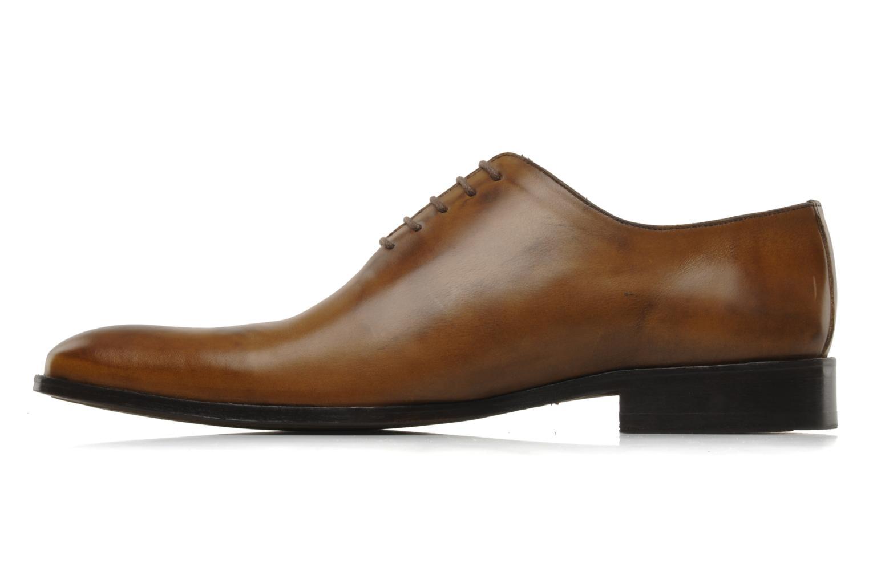 Chaussures à lacets Brett & Sons Lou Marron vue face
